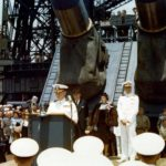 BATTLESHIP CEREMONY FOR THE 77th ANNIVERSARY OF HER COMMISSIONING INTO THE US NAVY