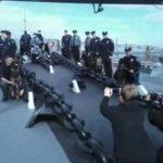 Battleship Salutes Law Enforcement During National Police Week