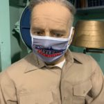 Battleship New Jersey Face Coverings