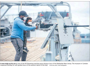 Bring Dad Aboard the Battleship for Father's Day, Sunday, June 21 @ Battleship New Jersey
