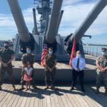 Battleship Salutes 2d Lt Matthew Joseph Prestio, USMC