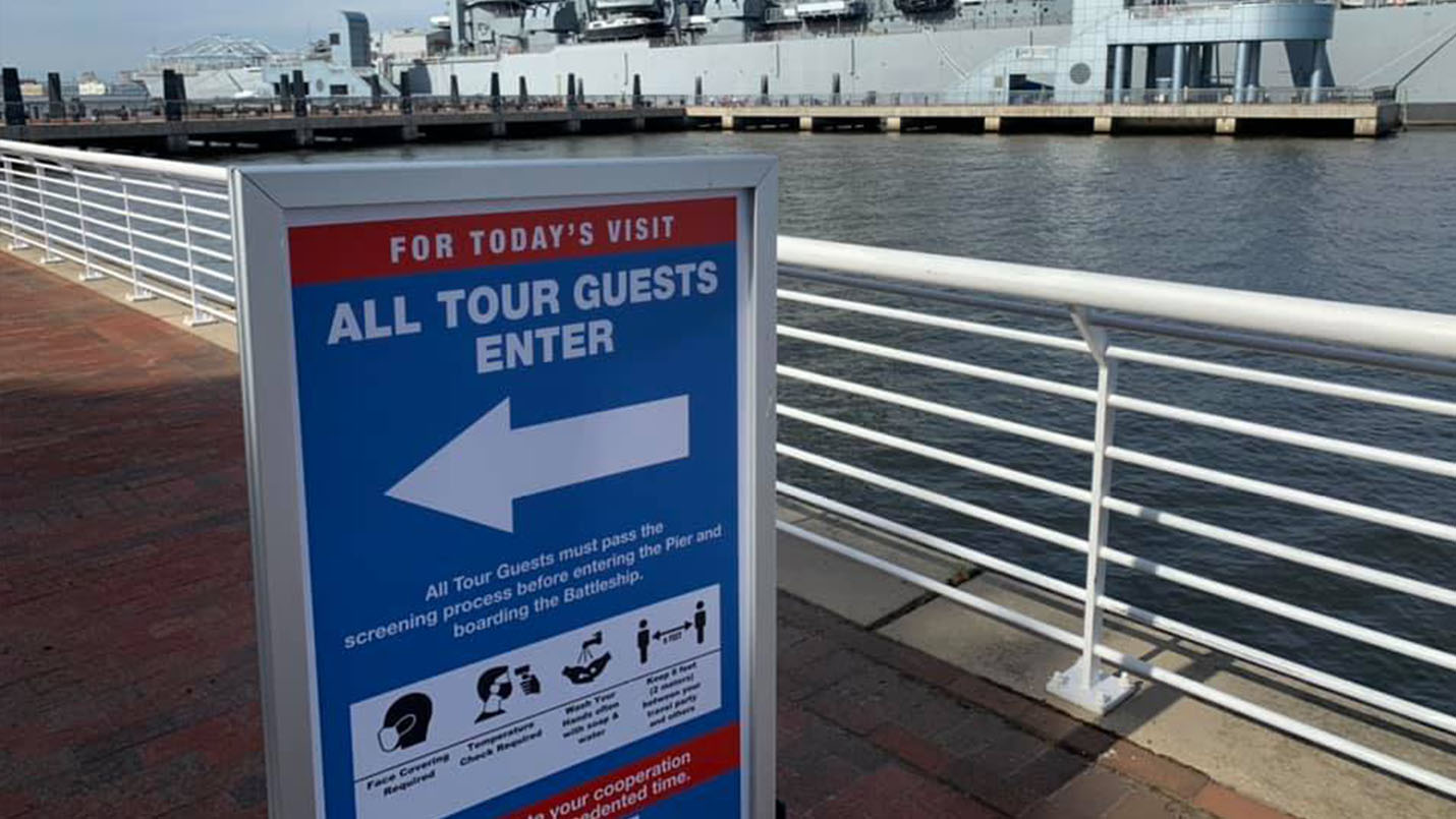 For Today's Visit All Tour Guests Enter Here