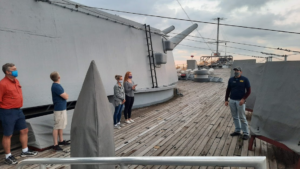 Evening Guided Tours: Change Over Time @ Battleship New Jersey