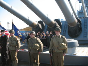 Veterans Day Ceremony Aboard the Battleship @ Battleship New Jersey