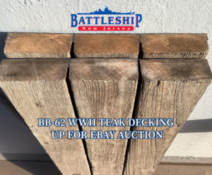 Teak Deck eBay Auction