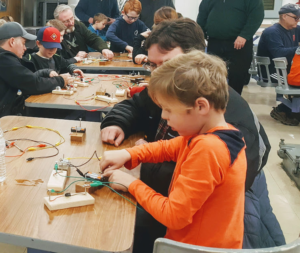 Little Lights!  Make a Basic Battery! Saturdays & Sundays from 12pm - 3pm @ Battleship New Jersey