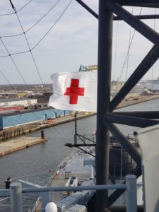 March is Red Cross Month @ Battleship New Jersey