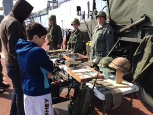 Vietnam War Living History Day @ Battleship New Jersey