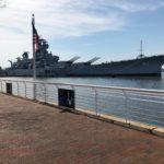 NJ Walk of Fame Along Promenade to the Battleship