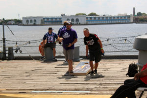 Big Guns Cornhole Tournament aboard the Battleship @ Battleship New Jersey