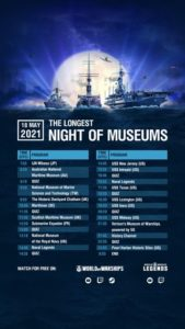 "World of Warships' ""The Longest Night of Museums"" @ Battleship New Jersey"