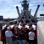 Ceremony, Gun Shoots, and Free Prints and Tours during Memorial Day Weekend Aboard the Battleship