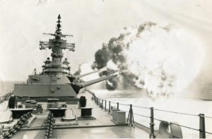 Shore bombardment