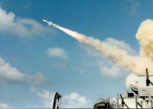 Missile firing 1980's