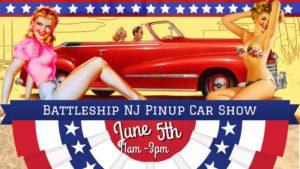 WWII Pin-up Car Show @ Battleship New Jersey
