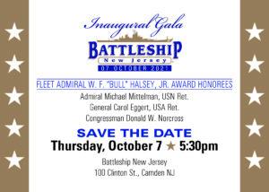 INAUGURAL ADMIRAL HALSEY AWARDS GALA @ Battleship New Jersey