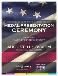 Camden County Medal Presentation Ceremony @ Battleship New Jersey