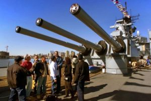 Guided Fire Power Tour on Indigenous Peoples Day @ Battleship New Jersey